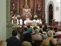 Misa en honor a la Virgen de el Pilar