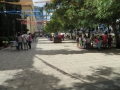 En la plaza de El Pilar